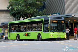 Bus 851 - SBS Transit MAN A22 (SMB3078S)