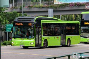 Bus 852 - SBS Transit MAN A22 (SMB3079P)