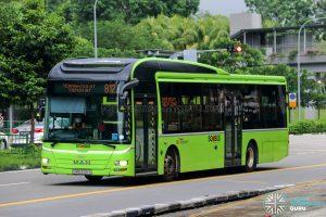 Bus 812T - SBS Transit MAN A22 (SMB3105Y)