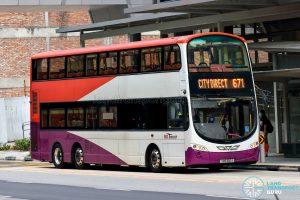 City Direct 671 - SBS Transit Volvo B9TL Wright (SBS3110Y)
