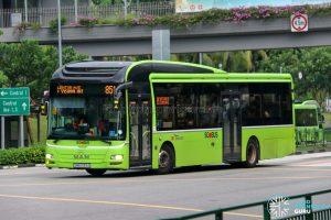 Bus 851 - SBS Transit MAN A22 (SMB3139A)