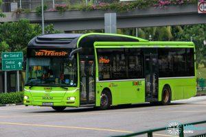 SBS Transit Logo - SBS Transit MAN A22 (SMB3144J)