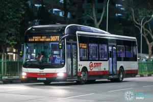 Bus 307T - SMRT Buses MAN A22 (SMB315C)