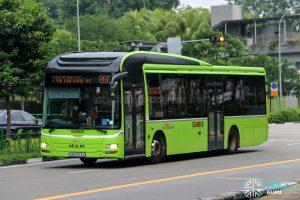 Bus 860 - SBS Transit MAN A22 (SMB3163D)