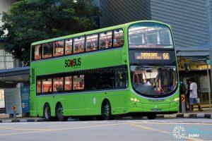Bus 66 - Tower Transit Volvo B9TL Wright (SBS3343S)
