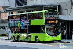 Bus 97 - Tower Transit Volvo B9TL Wright (SBS3363J)