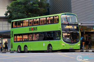 Bus 66 - Tower Transit Volvo B9TL Wright (SBS3420C)