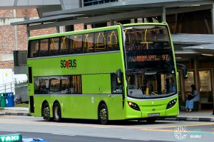 Bus 97 - Tower Transit Alexander Dennis Enviro500 (SMB3506Z)