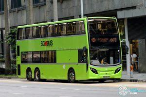 City Direct 663 - Tower Transit Alexander Dennis Enviro500 (SMB3509R)