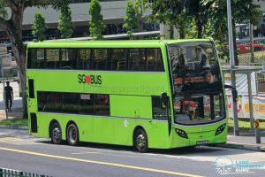 Bus 974 - Tower Transit Alexander Dennis Enviro500 (SMB3532Y)