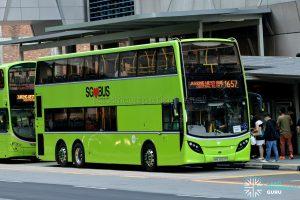 City Direct 657 - Tower Transit Alexander Dennis Enviro500 (SMB3552P)