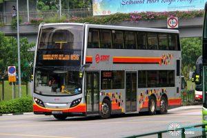 Bus 856 - SMRT Buses Alexander Dennis Enviro500 (SMB3590D)