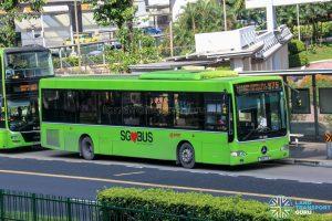Bus 975 - SMRT Buses Mercedes-Benz OC500LE (SMB37E)