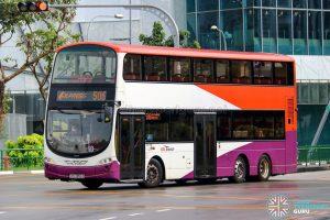 Express 506 - SBS Transit Volvo B9TL Wright (SBS3856D)