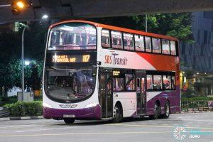 Bus 117 - SBS Transit Volvo B9TL Wright (SBS3965Y)