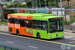 Bus 171 - SMRT Buses Mercedes-Benz OC500LE (SMB50R)