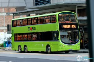 Express 97e - Tower Transit Volvo B9TL Wright (SG5006P)