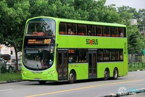 Bus 807 - SBS Transit Volvo B9TL Wright (SG5064X)