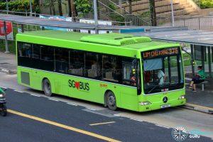 Bus 975 - SMRT Buses Mercedes-Benz OC500LE (SMB53H)