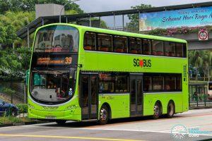 Bus 39 - SBS Transit Volvo B9TL Wright (SG5432S)