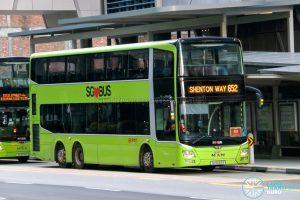 City Direct 652 - SMRT Buses MAN A95 (SG5869R)