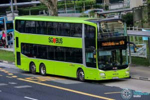 Bus 974 - SBS Transit MAN A95 (SG5897J)
