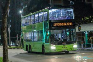 Bus 974A - SBS Transit MAN A95 (SG5897J)