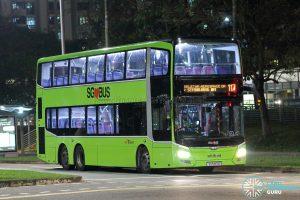 Bus 117 - SBS Transit MAN A95 (SG5917K)