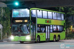 Bus 883 - SMRT Buses MAN A95 Euro 6 (SG5941P)