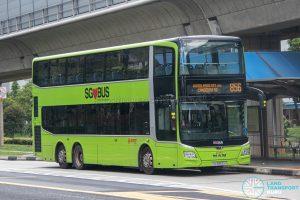 Bus 856 - SMRT Buses MAN A95 Euro 6 (SG5952H)