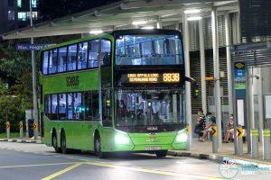 Bus 883B - SMRT Buses MAN A95 Euro 6 (SG5952H)