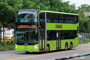 Bus 856 - SMRT Buses MAN A95 Euro 6 (SG5973Y)