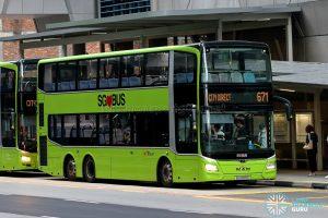 City Direct 671 - SBS Transit MAN A95 Euro 6 (SG6005K)