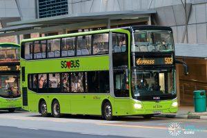 Express 502 - SBS Transit MAN A95 Euro 6 (SG6047P)