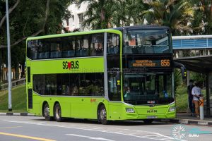 Bus 856 - SMRT Buses MAN A95 Euro 6 (SG6079Y)