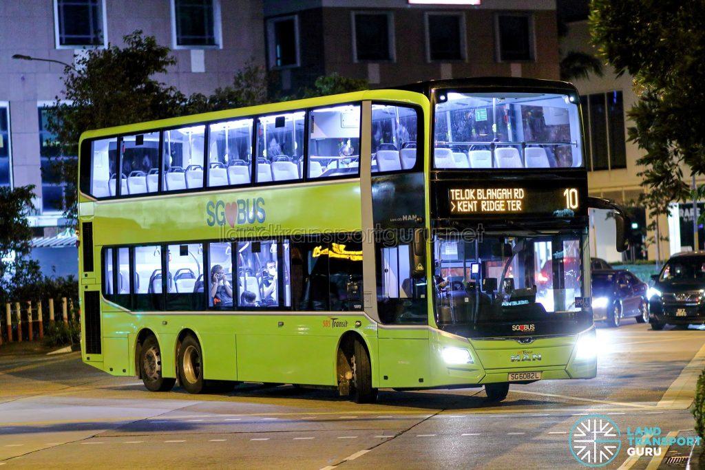 Bus 10 - SBS Transit MAN A95 Euro 6 (SG6082L)
