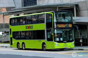 City Direct 661 - Go-Ahead Singapore MAN A95 Euro 6 (SG6090M)