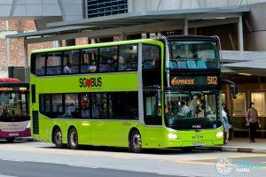 Express 502 - SBS Transit MAN A95 Euro 6 (SG6272E)