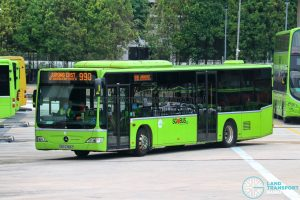 Bus 990 - Tower Transit Mercedes-Benz Citaro (SBS6369Z)