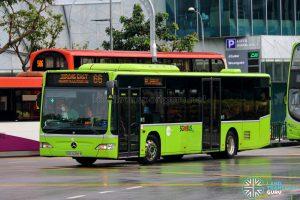 Bus 66 - Tower Transit Mercedes-Benz Citaro (SBS6389R)