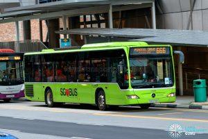 City Direct 666 - Go-Ahead Singapore Mercedes-Benz Citaro (SBS6519H)