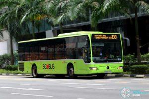 Bus 133 - SBS Transit Mercedes-Benz Citaro (SBS6578L)