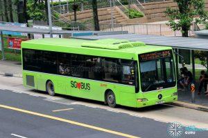 Bus 975 - SMRT Buses Mercedes-Benz OC500LE (SMB67T)