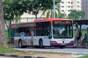 Bus 974 - SBS Transit Mercedes-Benz Citaro (SBS6700A)