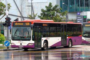 Express 506 - SBS Transit Mercedes-Benz Citaro (SBS6744Z)