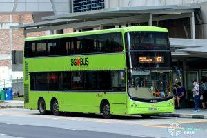 Bus 107 - SBS Transit Volvo B9TL CDGE (SBS7336L)