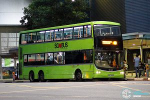 Bus 48 - SBS Transit Volvo B9TL CDGE (SBS7390D)