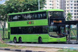 Bus 199 - SBS Transit Volvo B9TL CDGE (SBS7397K)