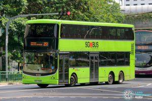 Bus 251 - SBS Transit Volvo B9TL CDGE (SBS7398H)
