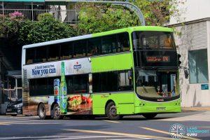 Bus 174 - SBS Transit Volvo B9TL CDGE (SBS7434L)